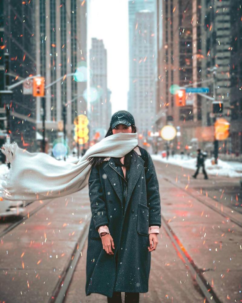 NY girl  by IlouS