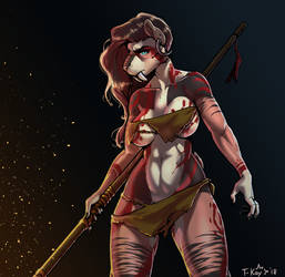 The Warrior Ares by TtotheKay