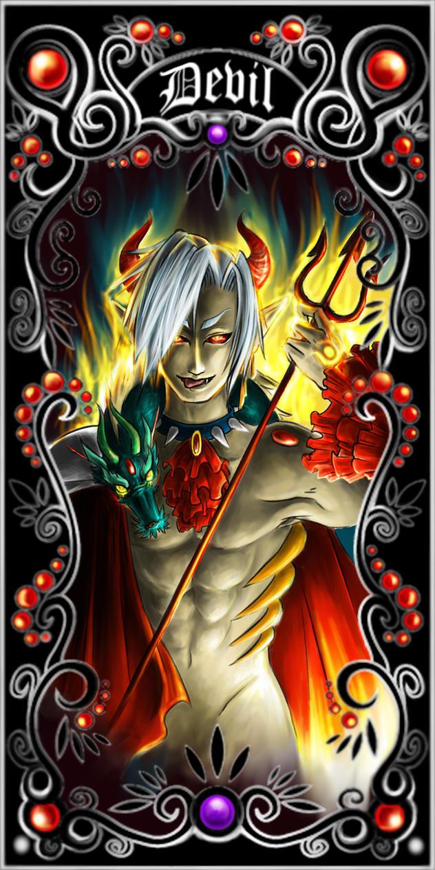 Tarot Carot Design: The Devil By Yuancross On DeviantArt