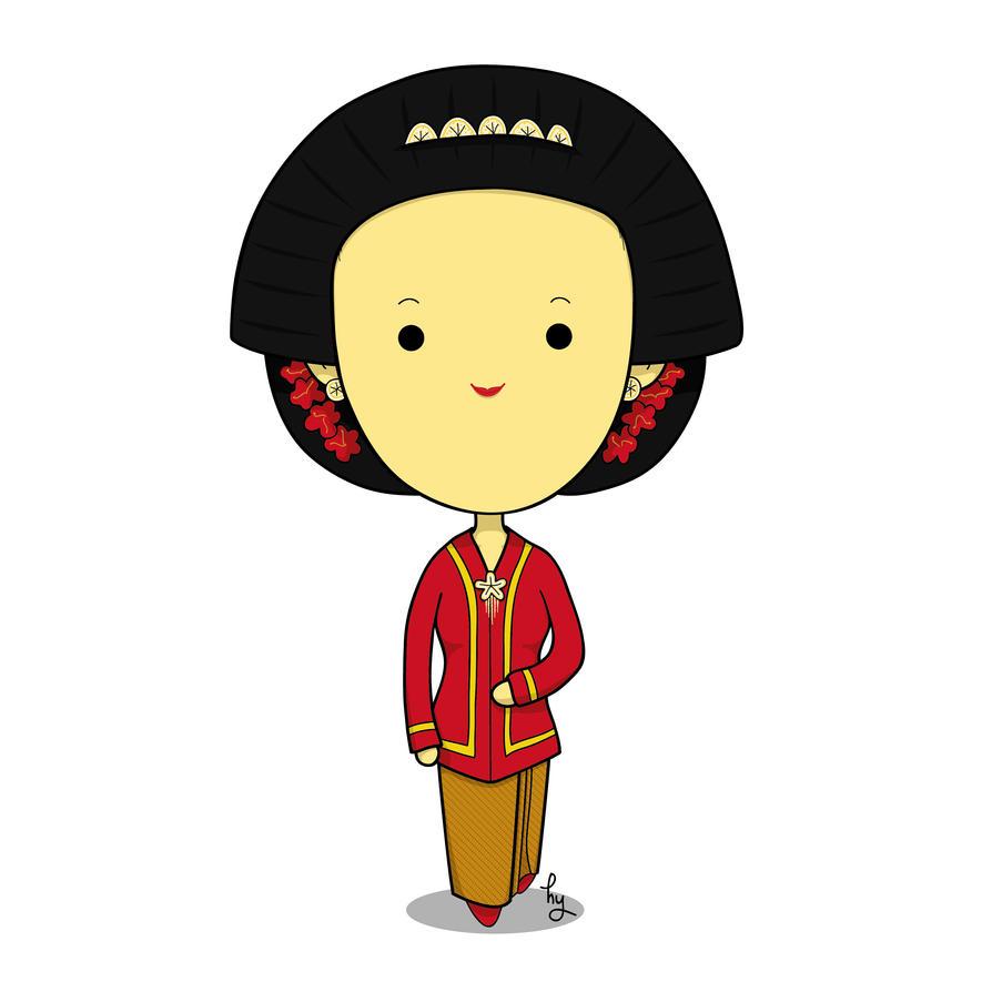 [Chibi] Javanese girl by hayyulathief