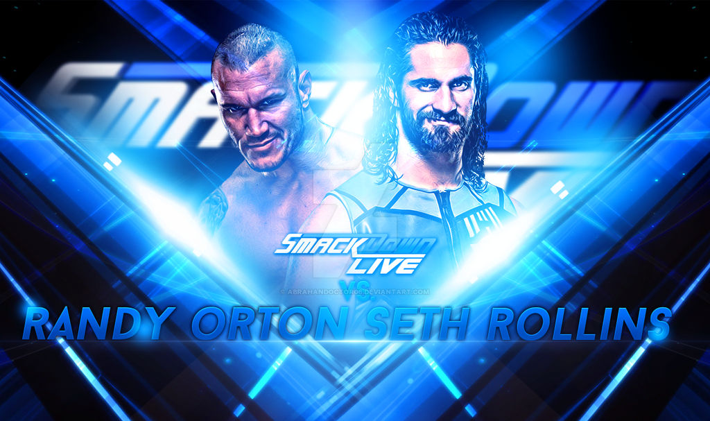 Wwe Smackdown Live 2016 Custom Match Card By Abrahandoctor06 On
