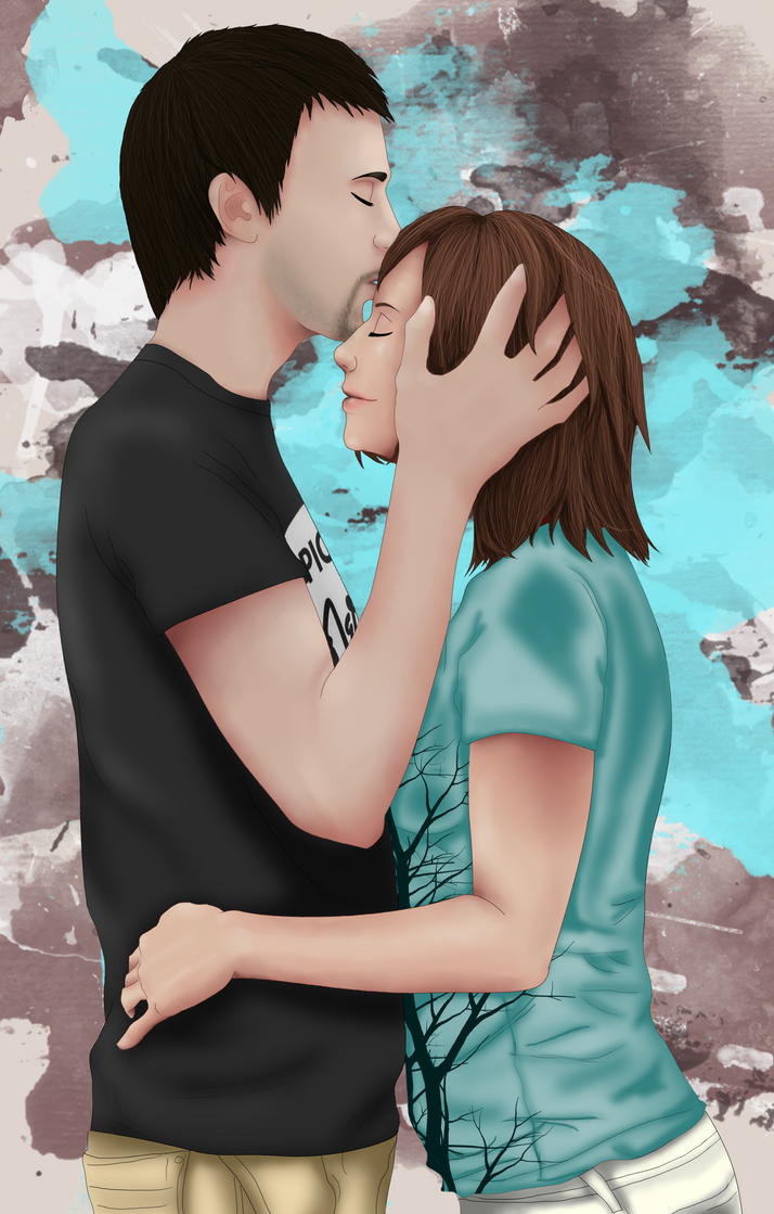 Forehead Kisses by jori-ulrand