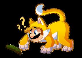 Confused Cat Mario