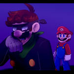 Mr.L and Mario Fights
