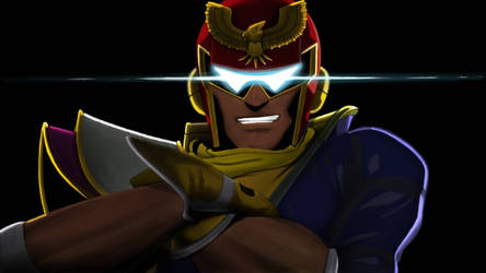Here comes the Captain Falcon! by RedFalconRanger