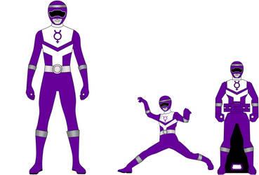 Updated Purple Rangers by RedFalconRanger
