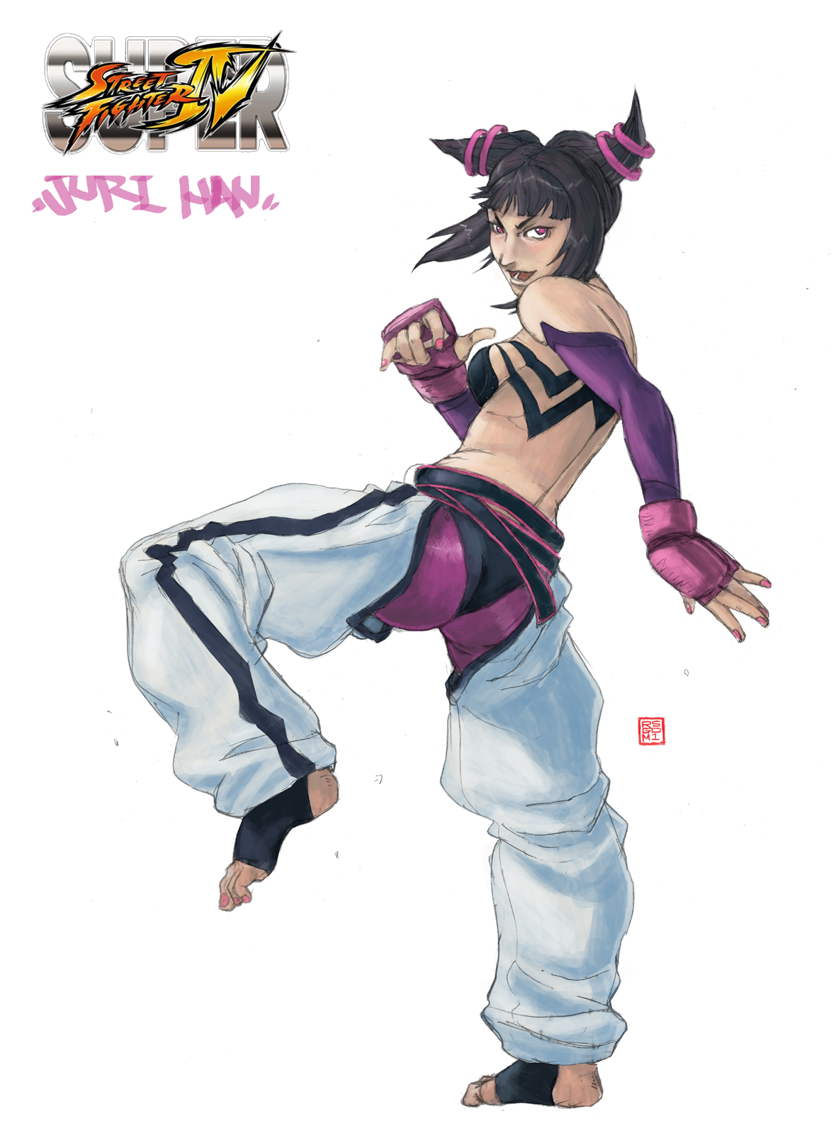 Juri SUPER STREET FIGHTER 4 by rgm501
