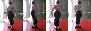 Custom Fei Long Statue