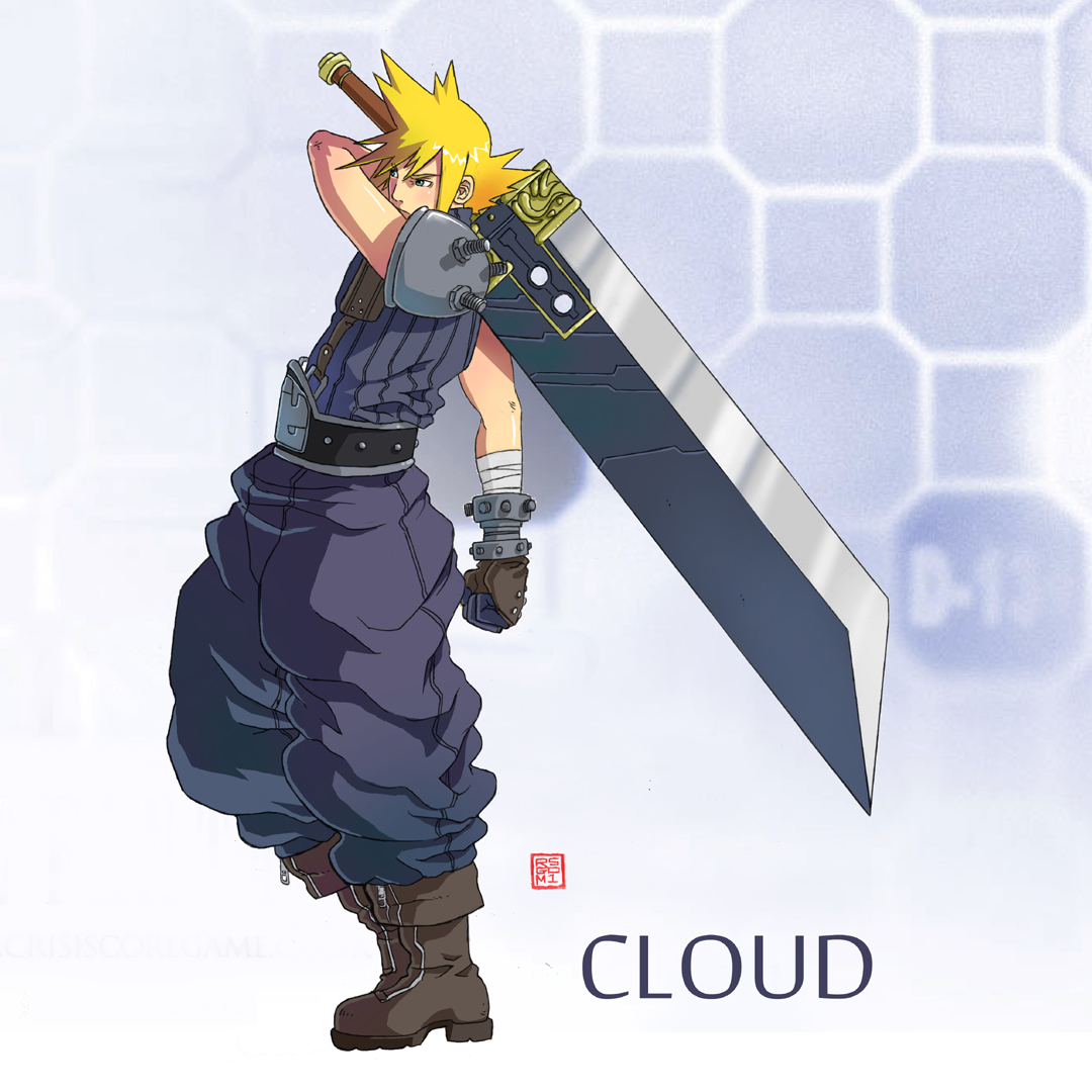 Final Fantasy Cloud Strife Wallpaper: Cloud FF7 By Rgm501 On DeviantArt