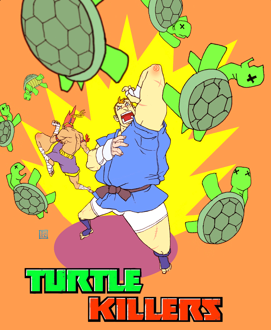 TuRtLe KiLLeRs by rgm501