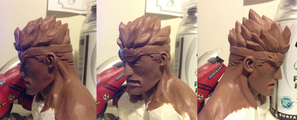 Evil Ryu Wip by rgm501