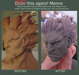 Akuma Sculpt This Again by rgm501