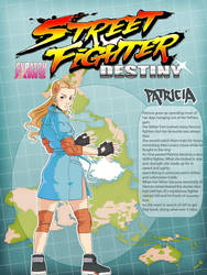 Street Fighter Destiny: Patricia by rgm501