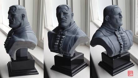 Dudley Bust Sculpt by rgm501