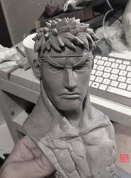 Ryu Bust Wip by rgm501