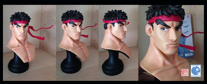Ryu Bust Sculpture 1:4 scale