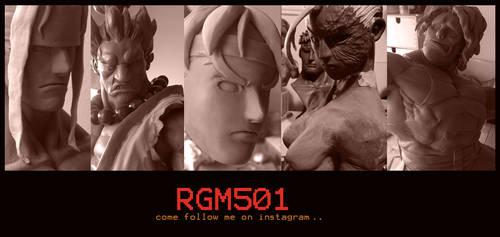 Rgm501 sculpture WIPS by rgm501