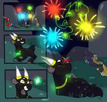 EquestriaFalls Fireworks, but better