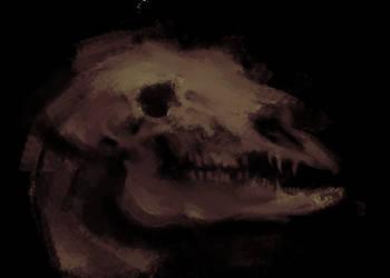 18 04 25 Skull of Beast 700500 by Kiogeki