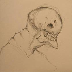 Late night sketch by Kiogeki