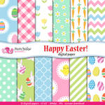 Happy Easter digital paper