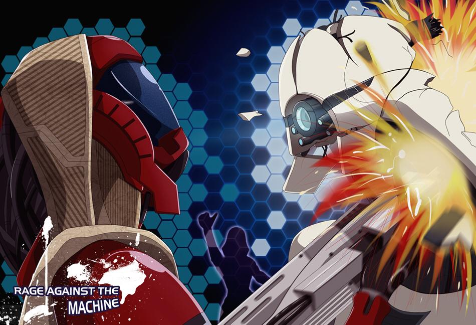 Rage against the machine by Ticktank