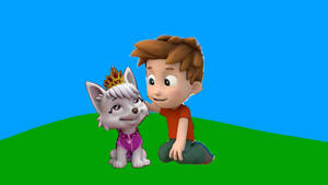 Alex and Sweetie (for Arvin-SweetiePupFan)