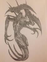 Evolve - Wraith by lollingtroll