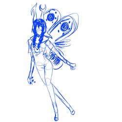 Vriska Sketch by TheChibiDino