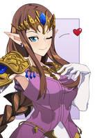 Zelda - Fan Art by Nisego