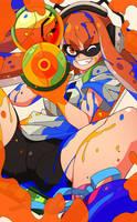 Splatoon - Inkling Fan Art by Nisego