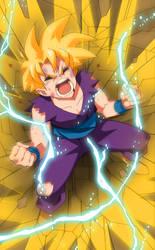 Dragon Ball Z - Gohan Fan Art by Nisego
