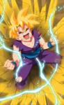 Dragon Ball Z - Gohan Fan Art