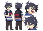 Character design - Tarou