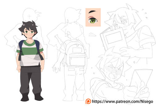 New patreon Post! - June Characters