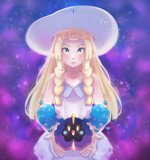 Lillie/Lylia and Cosmog