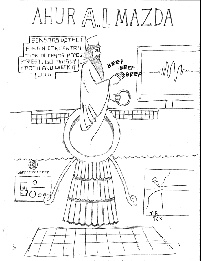 Zoroastrian Superhero Comic 5 263774288