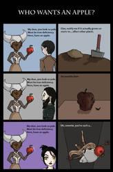Who wants an apple? by Kombayn