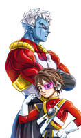 commission - agentprettyboy by frieza-love