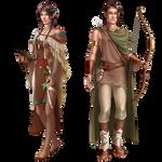 commission: copper elves