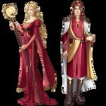 commission: gold elves