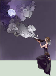 tasting the moonlight by MidnightTea7