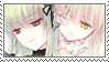 Suigintou and Kirakishou STAMP by XxClaireStrifexX