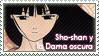 Sho-shan y la dama oscura STAMP by XxClaireStrifexX