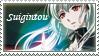 Suigintou STAMP by XxClaireStrifexX