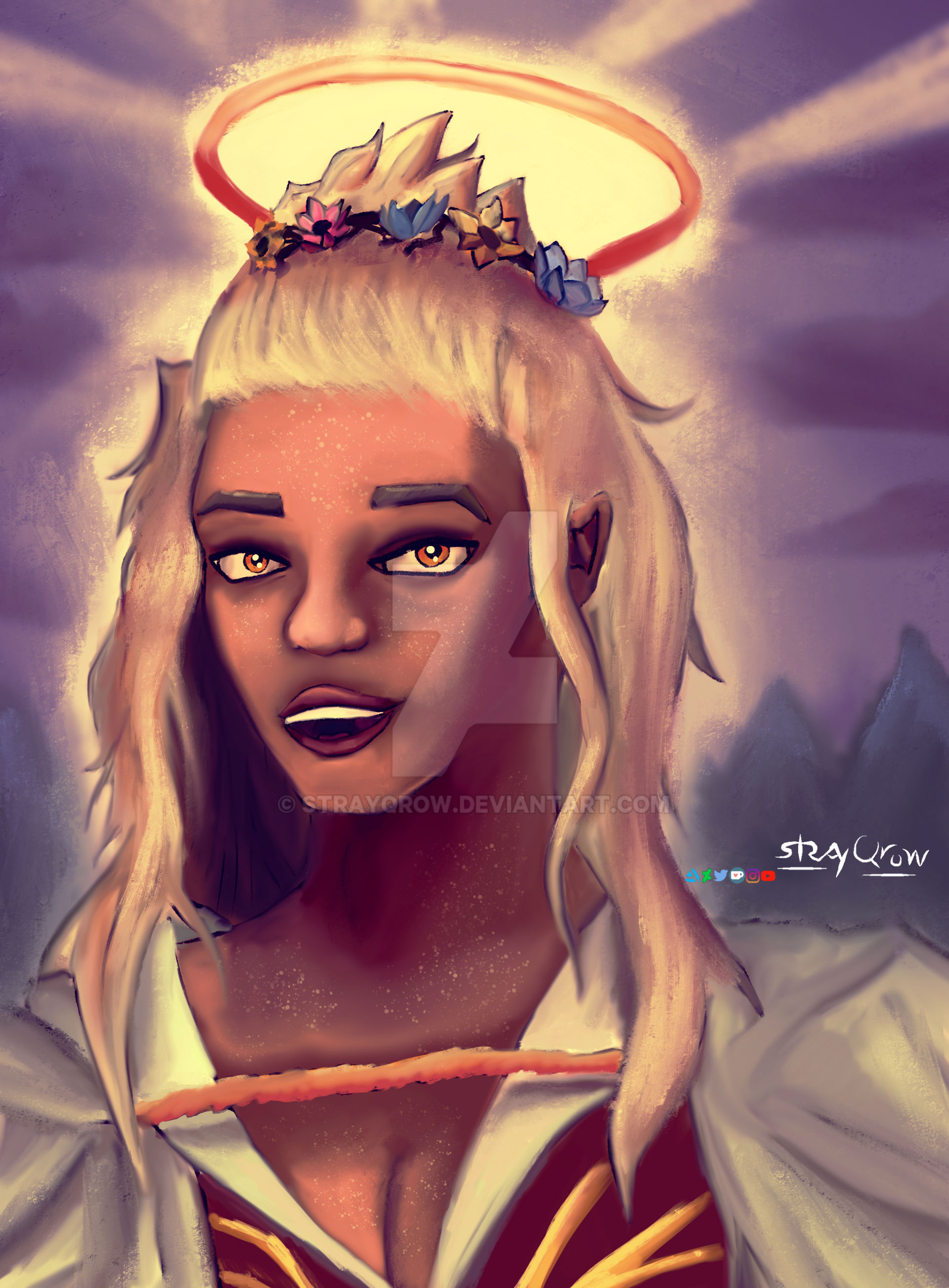 Critical Role Reani Speedpaint By Strayqrow On Deviantart Magical, meaningful items you can't find anywhere else. deviantart