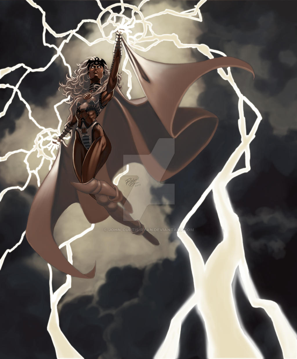 Storm Pin-up Colors BY Robert Ryan by John-Curtis-Ryan