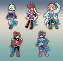 Random Adopts [3/5] (open) by Basset-Adopts
