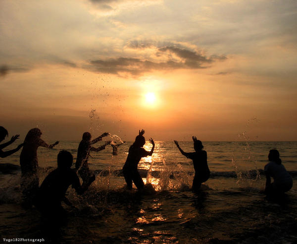Splash the Sun by yugo182