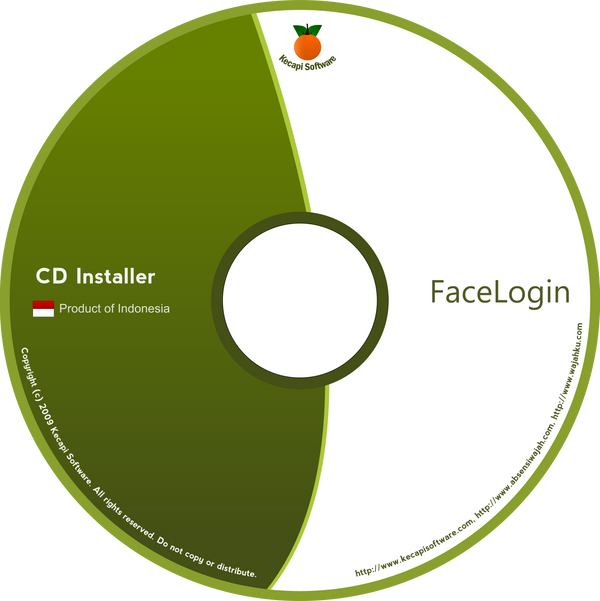 Kecapi CD Label by bluedee